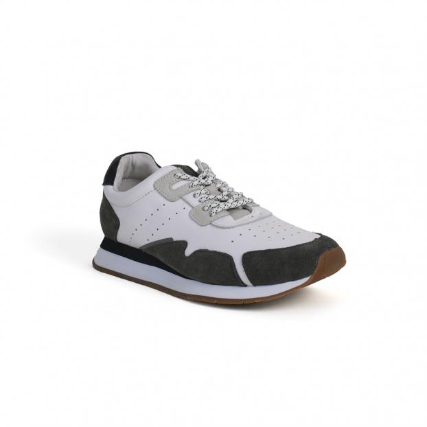 baskets trail jogger cendre/ navy schmoove